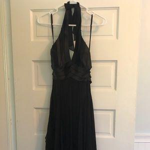 BCBG formal long black dress